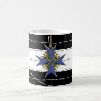 German Pour Le Merit Medal Mug Blanc