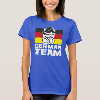 GERMAN TEAM  2 Femme T-shirt