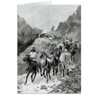 Geronimo et sa bande carte de vœux