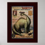 Gertie le dinosaure posters