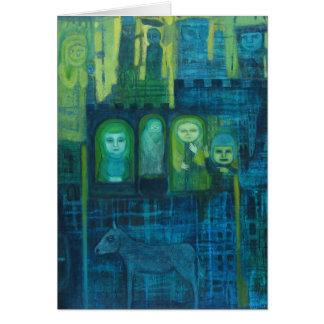 Gest dans la carte verte et bleue de Hoilday