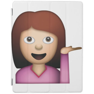 Geste de main de femme - Emoji Protection iPad