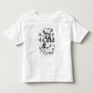 Gestes pour mimer Chrilogia de John Bulwer ' T-shirt Pour Les Tous Petits
