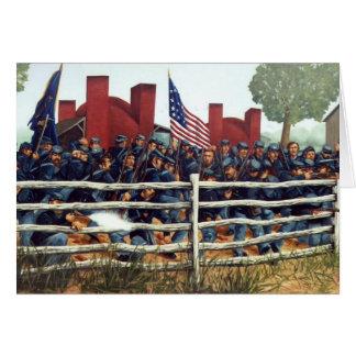Gettysburg, bataille à la carte de note de