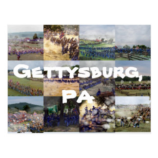 Gettysburg, PA Carte Postale