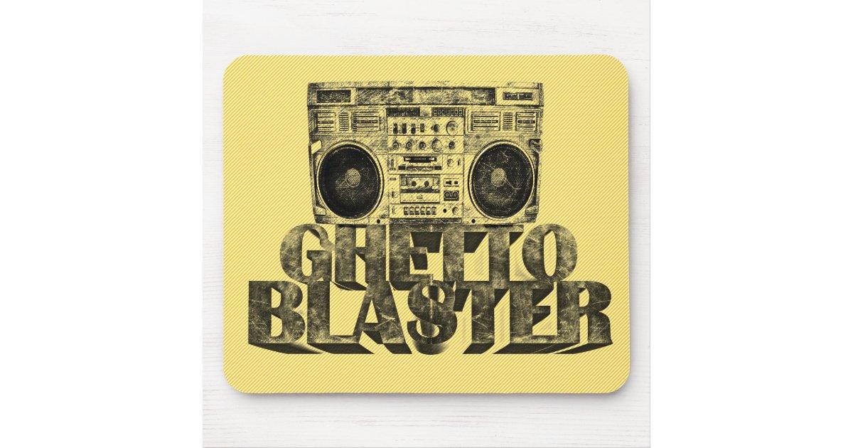Ghetto blaster tapis de souris zazzle - Ghetto blaster acheter ...