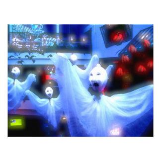 Ghosties pâles tract customisé