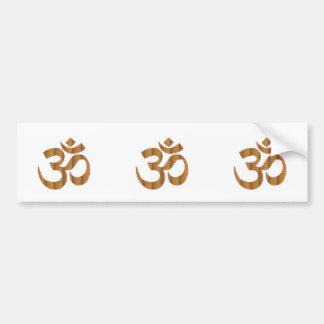 GIF d hindouisme de chant de méditation de yoga Autocollants Pour Voiture