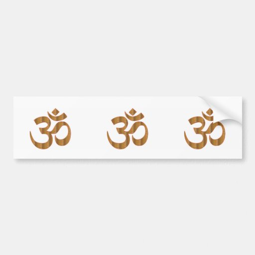 GIF d'hindouisme de chant de méditation de yoga Autocollants Pour Voiture
