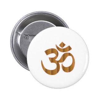 GIF d'hindouisme de chant de méditation de yoga Badge