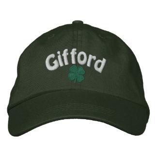 Gifford - trèfle de quatre feuilles - customisé casquette brodée