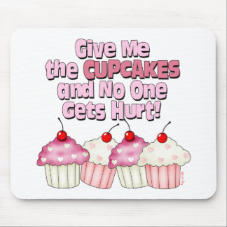 Gimme les petits gâteaux tapis de souris