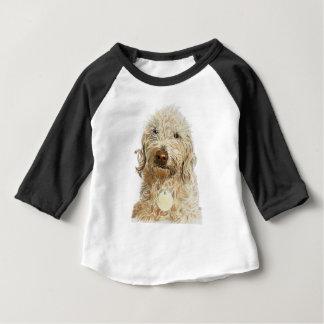 Gingembre de Labradoodle T-shirt Pour Bébé