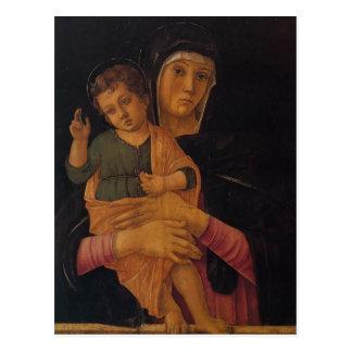 Giovanni Bellini- Madonna avec la bénédiction Carte Postale