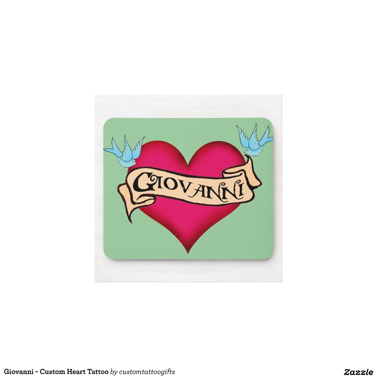 giovanni tatouage fait sur commande de coeur tapis souris rc7445bfa9e4a4f19862d11d955330195. Black Bedroom Furniture Sets. Home Design Ideas