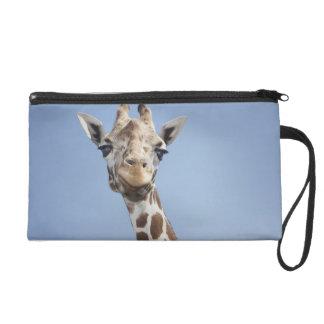 Girafe 2 pochette avec dragonne