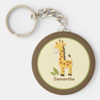 GIRAFE ADORABLE KEYCHAIN PERSONNALISABLE