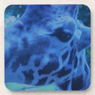 Girafe bleue de DSC_0729 (3).JPG par Jane Howarth Dessous-de-verre