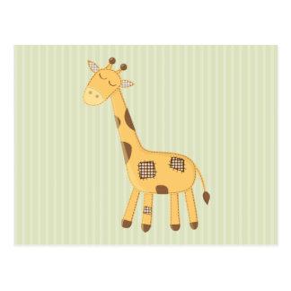 Girafe Carte Postale