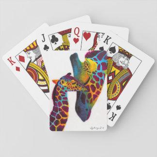 Girafe Cartes À Jouer