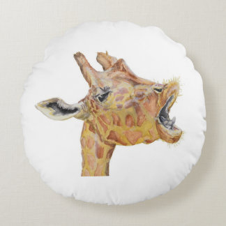 Girafe Coussins Ronds
