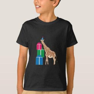 Girafe d'anniversaire t-shirt