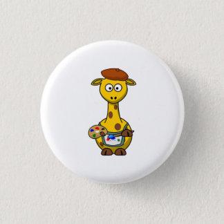 Girafe d'artiste badge