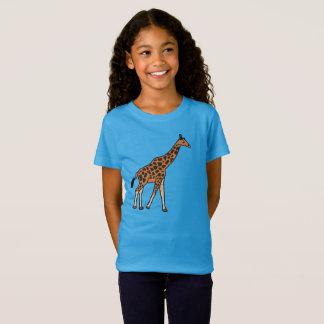 Girafe de bande dessinée T-Shirt