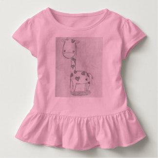Girafe de bébé t-shirt pour les tous petits