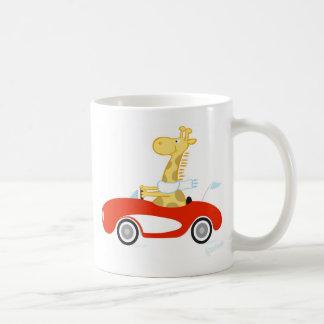 Girafe de croisière mug
