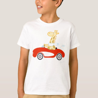 Girafe de croisière t-shirt