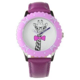 Girafe de hippie montres bracelet