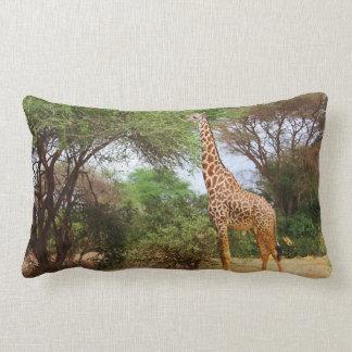 Girafe de Maasai Coussin Rectangle