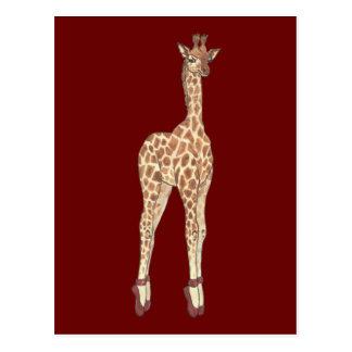 Girafe de Prima Donna Carte Postale