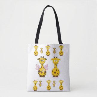 girafe de sac fourre-tout