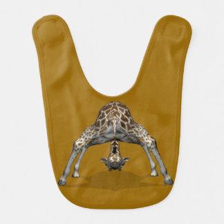 Girafe de yoga bavoir