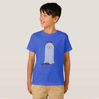 Girafe drôle de Halloween dans le T-shirt de