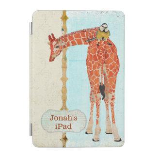 Girafe et petit coque ipad d oiseau protection iPad mini