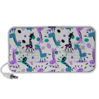 Girafe Haut-parleur Notebook