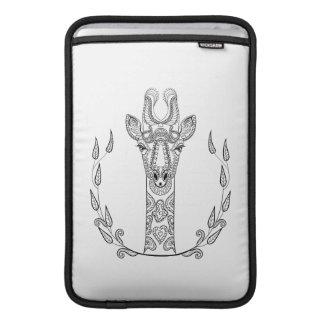 Girafe inspirée poches pour macbook air