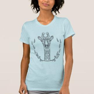 Girafe inspirée t-shirt