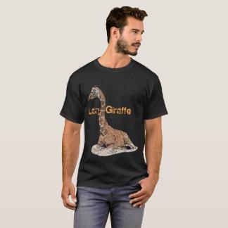 Girafe paresseuse t-shirt
