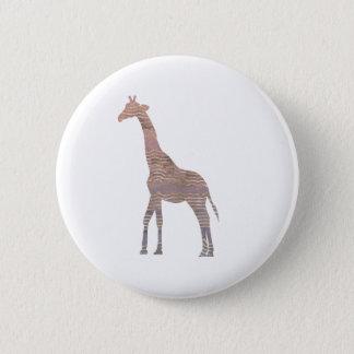 Girafe pourpre badges
