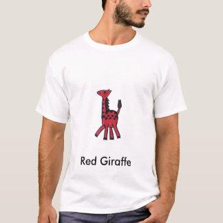 Girafe rouge t-shirt