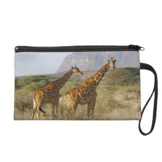 Girafe somalienne, girafe réticulée, Giraffa Pochette Avec Dragonne