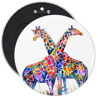 Girafes Badge
