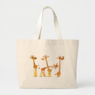 Girafes de bande dessinée : Le sac de troupeau