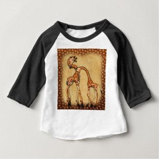 """Girafes de """" s """"Jolies """" de Jaguarwoman T-shirt Pour Bébé"""