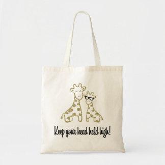Girafes de scintillement sac