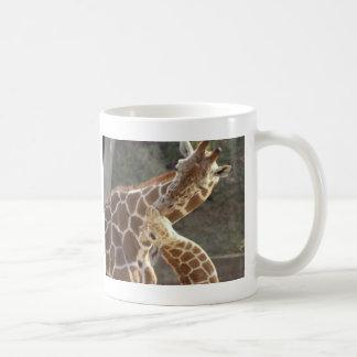 girafes réticulées tasse à café
